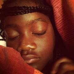 Sleepy Black Girl Cusco Peru (stevendepolo) Tags: chile trip family black peru girl square cusco sleepy squareformat hudson 2014 iphoneography lourdie instagramapp uploaded:by=instagram