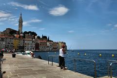Rovinj (WindwalkerNld) Tags: old city sea town fishing fisherman mediterranean village croatia historic rovinj istria hrvatska istri hrvatski kroati