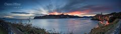 Mundaka, Amanecer panormico (saki_axat) Tags: panorama sunrise amanecer mundaka urdaibai canonikos