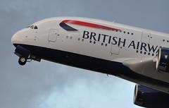 [15:45] BA0269 LHR-LAX (A380spotter) Tags: takeoff departure climbout gearinmotion gim retraction airbus a380 800 800igw msn0144 gxled internationalconsolidatedairlinesgroupsa iag britishairways baw ba ba0269 lhrlax runway27l 27l london heathrow egll lhr