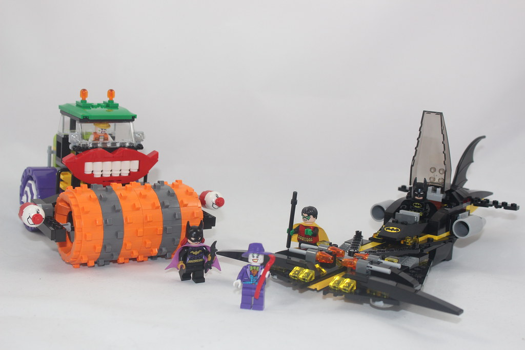 lego batman joker steamroller instructions
