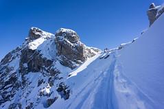 skin track (osti_1) Tags: skitour kwt ochsenloch