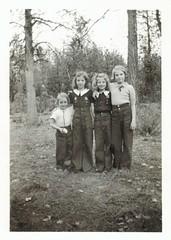 Good pals (sctatepdx) Tags: friends buddies snapshot pals vernacular vintageclothes oldsnapshot vintagesnapshot