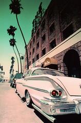Porst SP The Don '58 Chevy 1 (▓▓▒▒░░) Tags: california camera classic film analog 35mm vintage la losangeles lomo lomography 110 retro