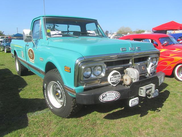 truck pickup sierra 1972 gmc 3500