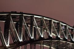 Night time bridgewalkers. (Chris Firth of Wakey.) Tags: sydney australia sydneyharbourbridge