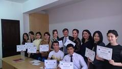 "Uručivanje sertifikata studentima master i doktorskih studija u Kazahstanu <a style=""margin-left:10px; font-size:0.8em;"" href=""https://www.flickr.com/photos/89847229@N08/13927385775/"" target=""_blank"">@flickr</a>"