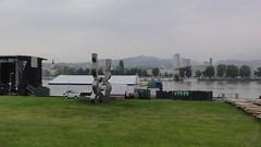 Linz (austrianpsycho) Tags: linz zelt urfahr linzfest aufräumen linzfest2014
