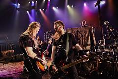 Sklmld (LalliSig) Tags: show music lights iceland concert theater action bass guitar live borgarleikhs sklmld