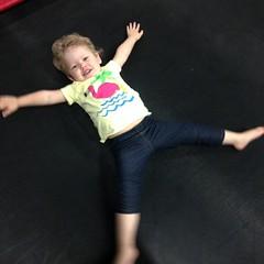 Trampoline Angels :) (ShanMcG213) Tags: jump toddler alabama trampoline em myniece emmarose bounce trampolines shakalaka indoortrampolines