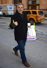 Chris Noth sighting in Greenwich Village, 8 gennaio 2015 (Det.Logan) Tags: chris noth