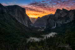 """Getting up early to see Yosemite National Park can be worth the effort. There is a quiet where the only sound is the thunderous waterfalls off in the distance. And then the glow begins and the stars fade signaling a new day"" [1680x1116] Photo by Darvin A (appletvfeed) Tags: mountains fall forest river waterfall nationalpark nevada merced calm falls sierra pines yosemite granite halfdome oaks elcapitan monolith towering darvin reddit atkeson darv lynneal ifttt yosemitelandscapescom"