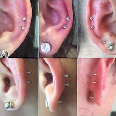 Three sets of Double Helix's by Taylor Bell