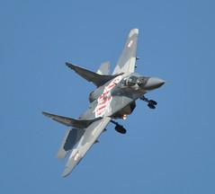 Mikoyan MiG-29 Fulcrum 56 Polish Air Force commemorating Wg Cdr Marian Pisarek (1912-1942) - RIAT Fairford 2015 (Rob Lovesey) Tags: force air polish cdr wg 56 marian fairford mikoyan riat commemorating mig29 2015 pisarek fulcrum 19121942
