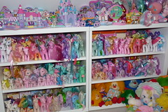 My Little Pony Collection (Chani-Chan) Tags: vintage toys rainbow little collection pony 80s polly g1 pocket g3 90s mlp brite