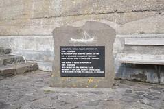 Ove Joensen plaque (mlcastle) Tags: faroeislands faroe froyar nlsoy