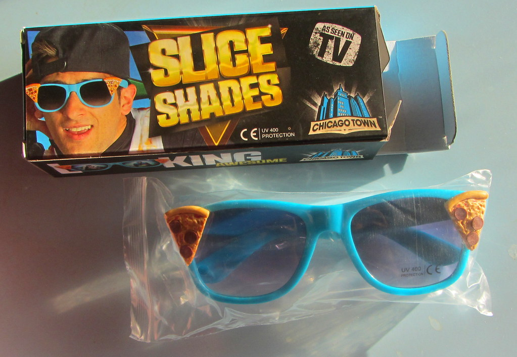 e947dc1763 Chicago Town Pizza  Slice Shades  Promotional Sunglasses Leyland England  2016 - 9 Of 12