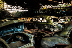 L1000857 (Bruno Meyer Photography) Tags: cars vintage trash scraps old colors hangar rust rustneverdie explore photography raw edit darkness light leica leicaimages leicacamera leicam240 leicacamerafrance leicaworld 35mm summarit 2016 archives