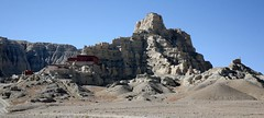 Tsaparang Monastery and Guge Kingdom Ancient Citadel Site Far Western Tibet (eriagn) Tags: citadel temple monastery guge tsaparang zanda tholing mudbrick badlands sutlejriver sutlejvalley panorama hills steep tunnel cave red buddhist buddhism history historical historicalsite remote tibet tibetanplateau arid tibetan farwesterntibet dust chorten stupa architecture building mural fresco art sky blue cloudless gravel gugekingdom ngariprefecture wall crumbling eroding erosion eriagn ngairehart ngairelawson photography expedition lostartoftibet artoffarwesterntibet greenkiwi footprints layers layering tones textures preservation