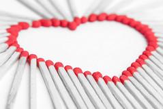 Find your match [Explored] (tounesse) Tags: heart macromondays match allumette coeur d90 105mm sb900 hmm macro amour love happyvalentine saintvalentin inlove amore explored explore