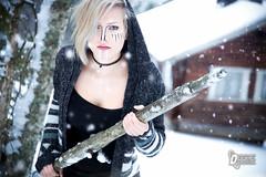 From north sauna (findegre) Tags: girl winter sauna snow rain blonde beatyful middleworld beaty