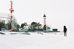 Шепелёвский маяк (molnienosets) Tags: ленобласть travel traveler trip ленинградскаяобласть маяк lighthouse livefok winter snow landscape