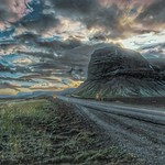 Iceland ~ Landmannalaugar Route ~  Ultramarathon is held on the route each July ... HDR ~ Driving to the Capitol thumbnail