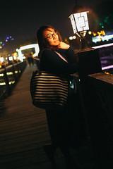 廊桥 (Allan_lun) Tags: 温泉 古兜 桥,夜拍 佳能 canon 5d3 35mm