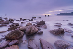 Waiting for the sun (Migueliglesias76) Tags: asturias longexposure lastres landscapes seascape sea sky raymaster rock