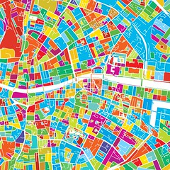 Dublin, Ireland, Colorful Vector Map (Hebstreits) Tags: army art artwork book color colorful colors countries create creation design distance dublin finder highways illustrator ireland landmark location map pins plan planner print printable roads route satellite street streets symbol tours travel vector view water