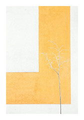 The Yellow Tree (Florin Aioanei) Tags: minimalism yellow tree wall snow white romania florin aioanei