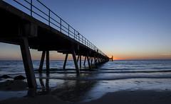 Glenelg Pier (Mitch Nicholls) Tags: glenelg glenelgpier landscape seascpae mitchnichollsphotography adelaide sunset beachphotography visitadelaide canon1dmkiii canon