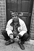 Hard Times VII (bensonfive) Tags: hardtimes candid blackwhitephotography blackandwhite monochrome streetphotography southlondon fujifilmx100s