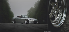 Josh's lm5t's (Anthony Sundell Photography) Tags: honda low wheels static s2k s2000 jdm s2 slammed dumped ccw lm5t