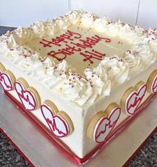 Red Velvet Cake for a Cardiologist