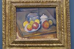 わらひもを巻いた壺、砂糖壺、りんご Vase paillé, sucrier et pommes (ELCAN KE-7A) Tags: paris france museum paul pentax musée フランス orangerie cézanne 美術館 パリ ペンタックス 2013 ポール セザンヌ k−5 オランジュリー