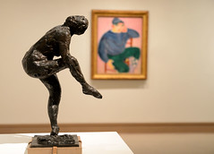 Degas in Front, Matisse on the Wall (Joe Josephs: 248,000 views - thank you) Tags: newyorkcity newyork modernart met degas matisse metropolitanmuseumofart metmuseum nikond600 metmuseumofart copyrightjoejosephsphotography nikon2485vrii copyrightjoejosephs2013
