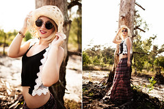 Sarah (Tobias Urban) Tags: light portrait urban girl fashion female canon diptych natural outdoor mark lifestyle ii blonde 5d tobias 35l