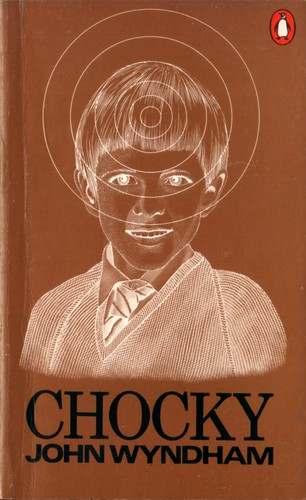 "Chocky by John Wyndham. Penguin 1976. Cover artist Harry Willock • <a style=""font-size:0.8em;"" href=""http://www.flickr.com/photos/75422475@N02/9164104023/"" target=""_blank"">View on Flickr</a>"