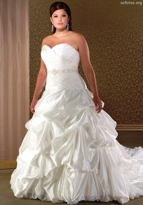 Vestido de noiva para gordas