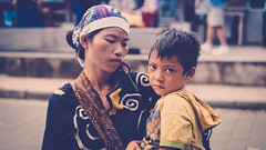 Mother and kid (Gnther Gheeraert) Tags: portrait people bali indonesia island child ubud
