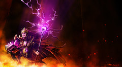 Wizard Diablo3 (Youset) Tags: 3 illustration digital photoshop painting wizard diablo