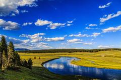 Yellowstone's Gorgeous Hayden Valley (Samantha Decker) Tags: nps yellowstonenationalpark wyoming yellowstoneriver ynp wy haydenvalley canonef24105mmf4lisusm grandlooproad canoneos6d topazadjust samanthadecker adobephotoshopcs6