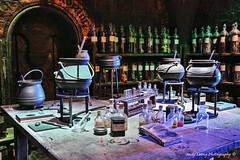 Harry Potter - The Potion Room (Pic_Joy) Tags: uk travel england holiday europe united harrypotter kingdom leisure  witchcraft attraction potions    wizardry   hogwartscastle     hogwartsschoolofwitchcraftandwizardry   potionmaking   potionroom