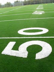 (mestes76) Tags: minnesota numbers footballfield schools 50 openhouse duluth 50yardline 091612 lincolnparkmiddleschool