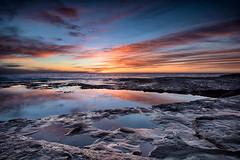Winter's End II (Crouchy69) Tags: seascape beach sunrise landscape dawn nikon sydney australia palm lee nikkor filters d800 1635mm
