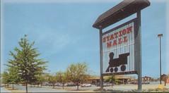Station Mall main entrance circa 1990 - Altoona, PA (cooldude166861) Tags: station sign mall pennsylvania mcdonalds 1990 altoona stationmall