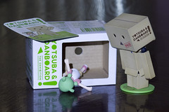 Clumsy (katsuboy) Tags: japan robot kaiyodo yotsuba danbo revoltech bfigure danboard minidanbo yotsubaanddanboardtheexhibition