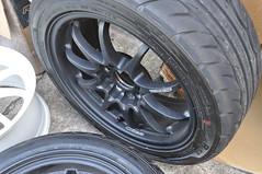DSC_0359 (Blazedd) Tags: black color flat wheels racing 45 16 rays custom rims 42 matte jdm volk 215 blk blazed hankook ce28n ce28 16x7 blazedd 2154516