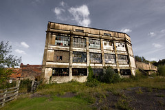 Derelict (Richard burtle) Tags: old windows broken decay